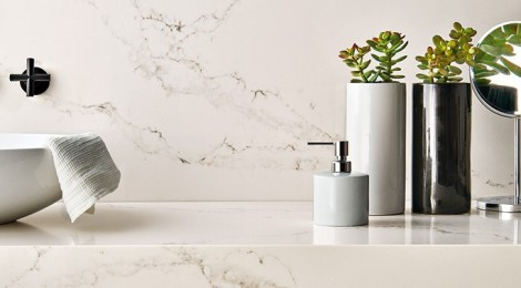 Add glam factor to your house with quartz countertops